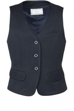 ユニフォームや制服・事務服・作業服・白衣通販の【ユニデポ】ベスト(Air fit Suitsストライプ)