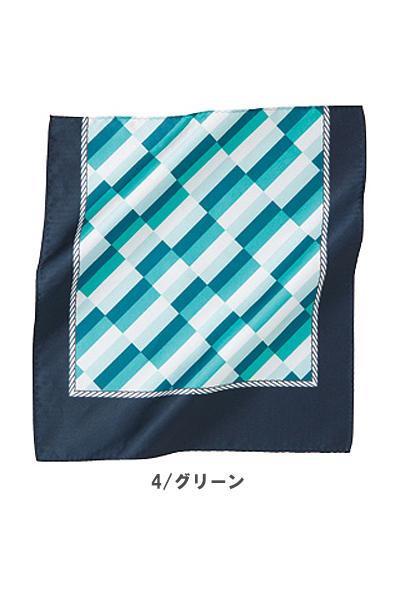 【3色】ミニスカーフ(マリンモチーフ)