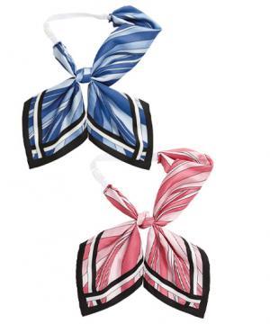 ユニフォームや制服・事務服・作業服・白衣通販の【ユニデポ】【全2色】リボンスカーフ