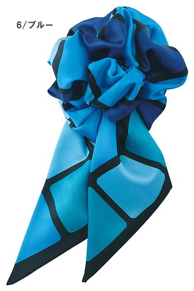 【2色】コサージュミニスカーフ(スカーフループ専用)
