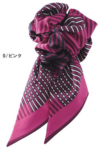 【全2色】コサージュミニスカーフ(スカーフループ専用)