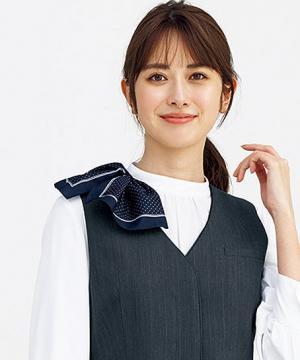 【2色】ミニスカーフ(ループ付き商品専用)
