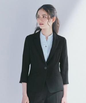 エステサロンやリラクゼーションサロン用ユニフォームの通販の【エステデポ】七分袖ジャケット(Air Suits for Service)