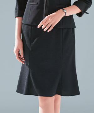 ユニフォームや制服・事務服・作業服・白衣通販の【ユニデポ】マーメイドラインスカート(Coco Knit Tweed/夏用ニットスーツ)