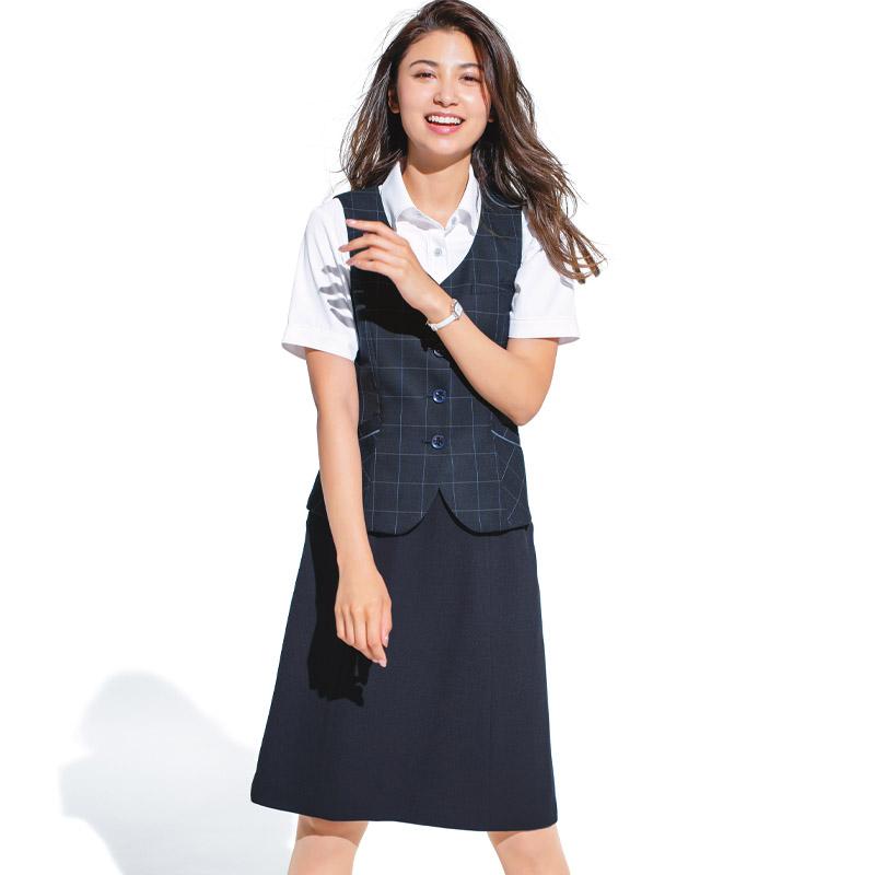 【2色】Aラインスカート(夏のノンストレススカート)