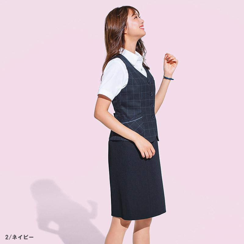 【全2色】セミタイトスカート(夏のノンストレススカート)