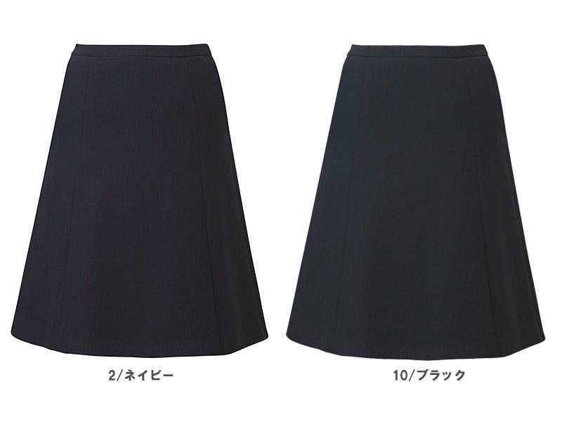 【2色】フレアスカート(夏のノンストレススカート)