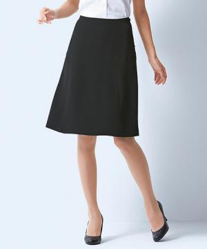 【全2色】フレアスカート(夏のノンストレススカート)