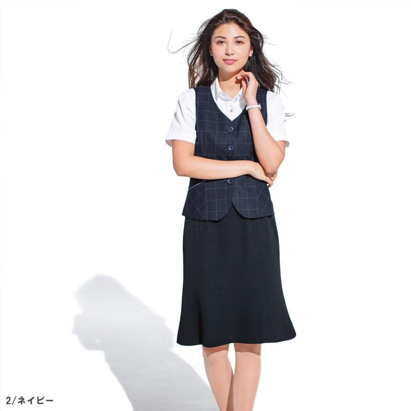 【全2色】マーメイドラインスカート(夏のノンストレススカート)