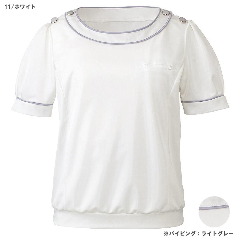 【全3色】プルオーバー(サテンスムース・半袖)