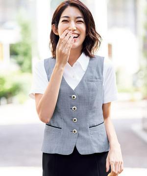 【2色】ベスト(春夏対応・美スラッと)