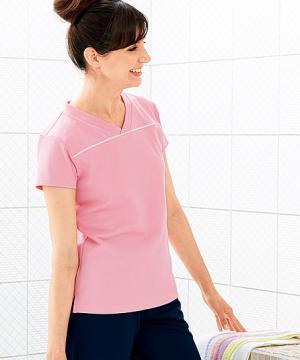 白衣や医療施設用ユニフォームの通販の【メディカルデポ】VネックTシャツ