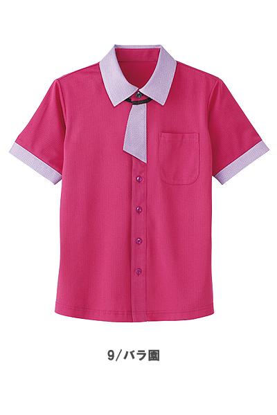 【全5色】半袖ニットシャツ(男女兼用)
