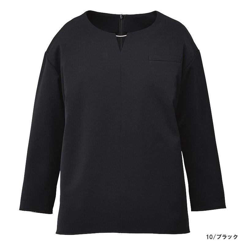 【2色】プルオーバー(八分袖)