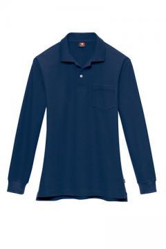 ユニフォームや制服・事務服・作業服・白衣通販の【ユニデポ】長袖ポロシャツ