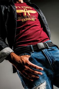 作業服の通販の【作業着デポ】【BURTLEバートル】反射ベルト(ユニセックス)