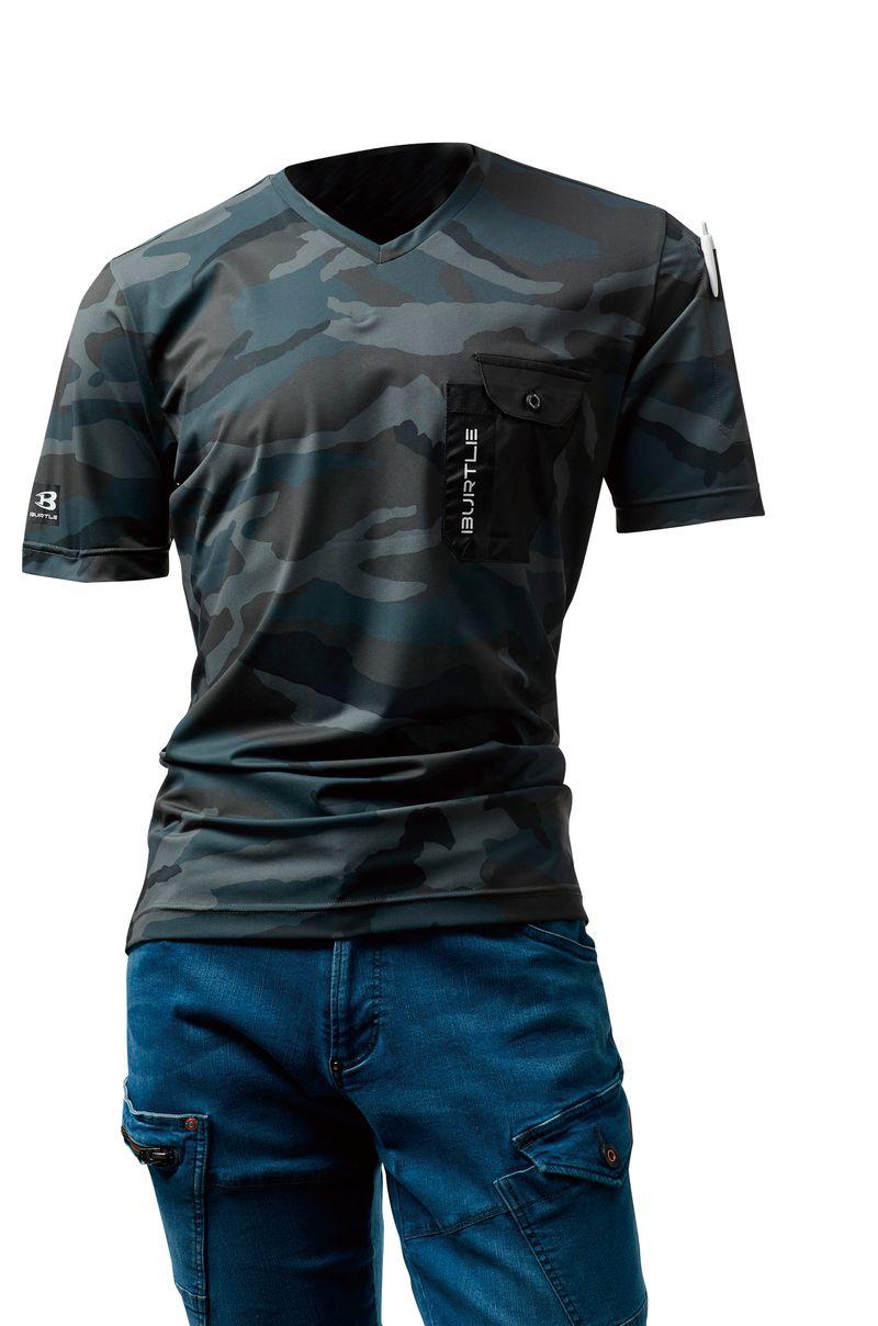 【BURTLEバートル】VネックTシャツ