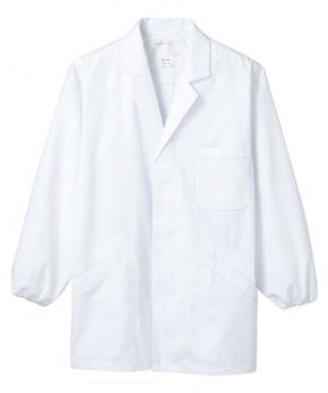 メンズ調理衣(長袖ゴム入り・抗菌O157対応/~5Lまであり)