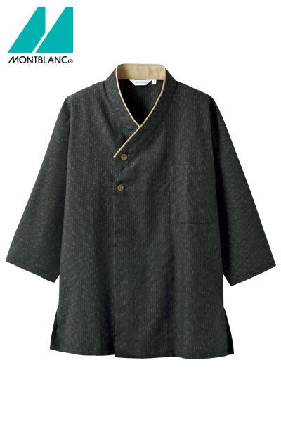 和風シャツ(ユニセックス・7分袖)