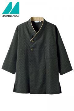 コックコート・フード・飲食店制服・ユニフォームの通販の【レストランデポ】和風シャツ(ユニセックス・7分袖)