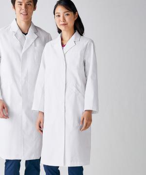 白衣や医療施設用ユニフォームの通販の【メディカルデポ】ドクターコート 白衣(レディース・長袖)