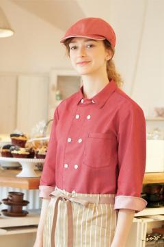 コックコート・フード・飲食店制服・ユニフォームの通販の【レストランデポ】コックジャケット(男女兼用・7分袖)