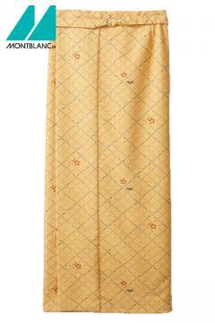 松葉紋和風ラップスカート(レディス・腰ヒモ式)
