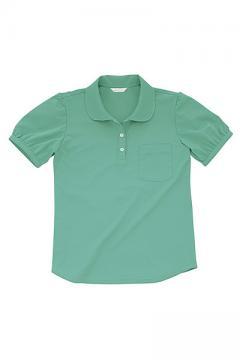 レディス半袖ポロシャツ(防汚・透け防止・吸汗速乾)