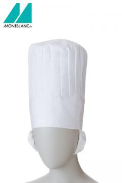 ユニフォームや制服・事務服・作業服・白衣通販の【ユニデポ】コック帽たれ付(男女兼用)