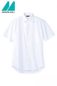 コックコート・フード・飲食店制服・ユニフォームの通販の【レストランデポ】ストレッチシャツ(メンズ・半袖・透け防止)