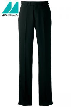 コックコート・フード・飲食店制服・ユニフォームの通販の【レストランデポ】メンズパンツ(スッキリシルエット・ノータック・裏地付)