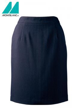 コックコート・フード・飲食店制服・ユニフォームの通販の【レストランデポ】ストライプスカート(裏地付)