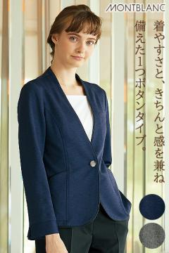 ニットジャケット(長袖)