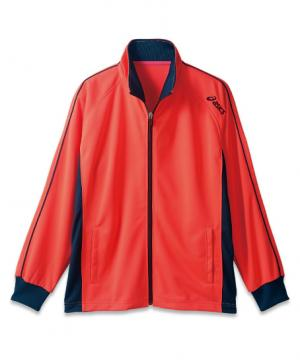 【ASICS】アシックス トレーニングジャケット(男女兼用・制菌)