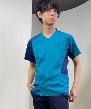 【asics】アシックス メンズスクラブ(ストレッチ・制電)