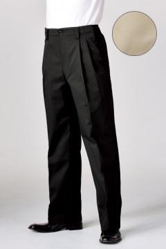 コックコート・フード・飲食店制服・ユニフォームの通販の【レストランデポ】男女兼用チノパンツ(ウエストアジャスター・ツータック/SS~6Lまであり)