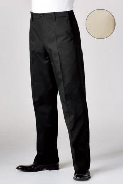 コックコート・フード・飲食店制服・ユニフォームの通販の【レストランデポ】男女兼用チノパン(ウエストアジャスター・ノータック/SS~6Lまであり)