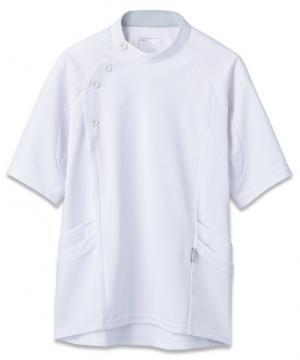 白衣や医療施設用ユニフォームの通販の【メディカルデポ】【asics】アシックス メンズケーシージャケット(透け防止)