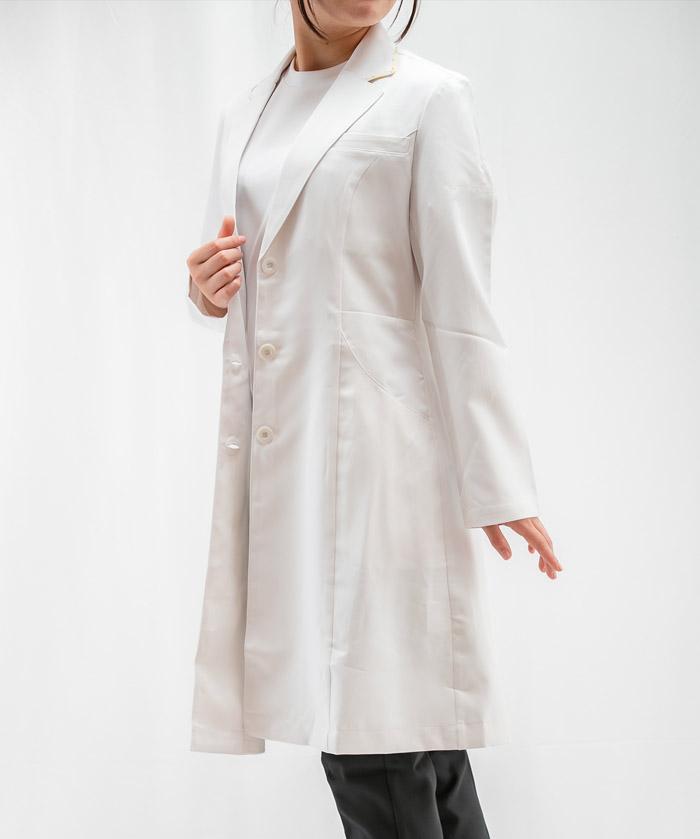 【LAURA ASHLEY】レディスドクターコート(シングル・長袖)