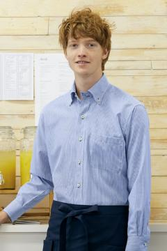 【4色】ストライプシャツ(男女兼用)