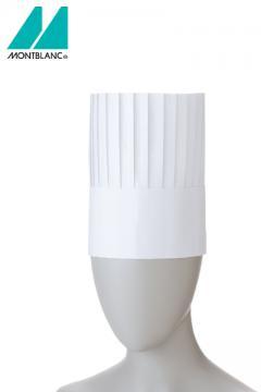 コック帽(10枚入り)20cm 白