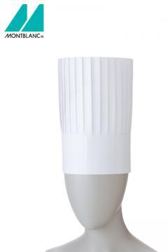 コック帽(10枚入り)25cm 白