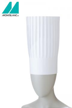 コック帽(10枚入り)30cm 白