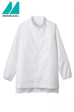 【RHP】ブルゾン白衣(長袖・袖口ネット)