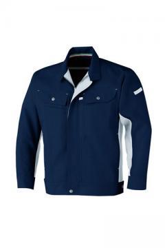 作業服の通販の【作業着デポ】立体カット長袖ブルゾン
