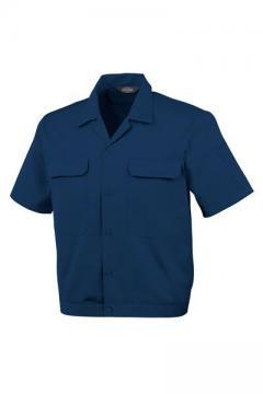 作業服の通販の【作業着デポ】開襟半袖ブルゾン
