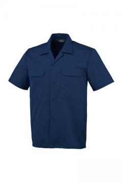ユニフォームや制服・事務服・作業服・白衣通販の【ユニデポ】開襟半袖シャツ