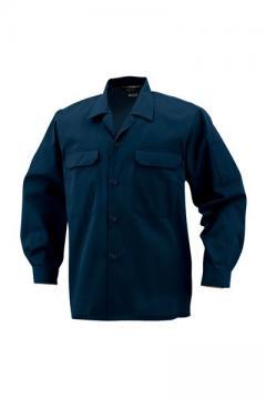 作業服の通販の【作業着デポ】開襟長袖シャツ