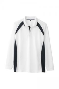 作業服の通販の【作業着デポ】吸水速乾長袖ポロシャツ