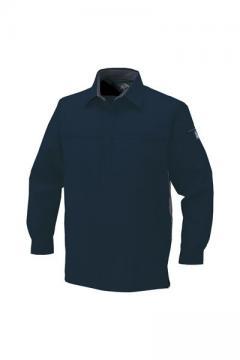 ユニフォームや制服・事務服・作業服・白衣通販の【ユニデポ】エコ製品制電長袖シャツ